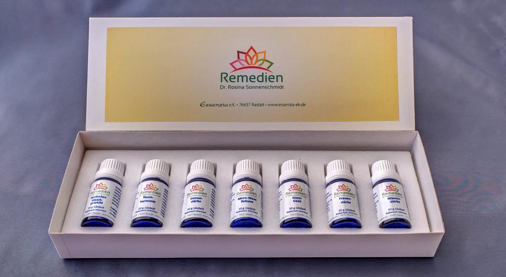 Set : alle 7 Top Remedien für Mensch und Raum