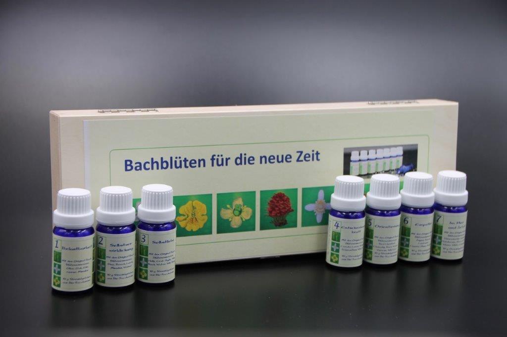 Serie Bachblüten in Holzetui 7 x 10 g